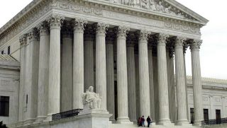 The U.S. Supreme Court in Washington D.C., Nov. 29, 2000.