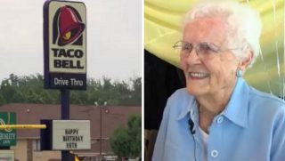 Ruth Parker, right, Taco Bell, left
