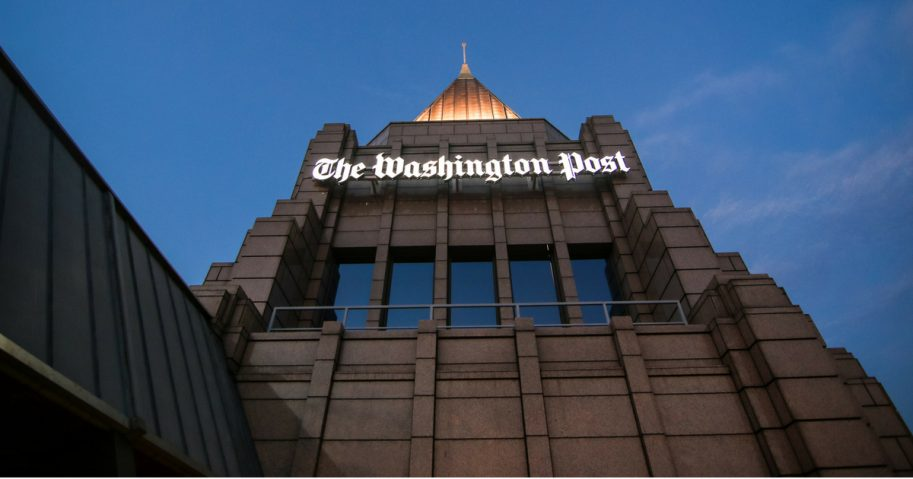 The Washington Post building.