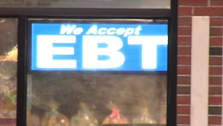 "A ""We Accept EBT"" sign"