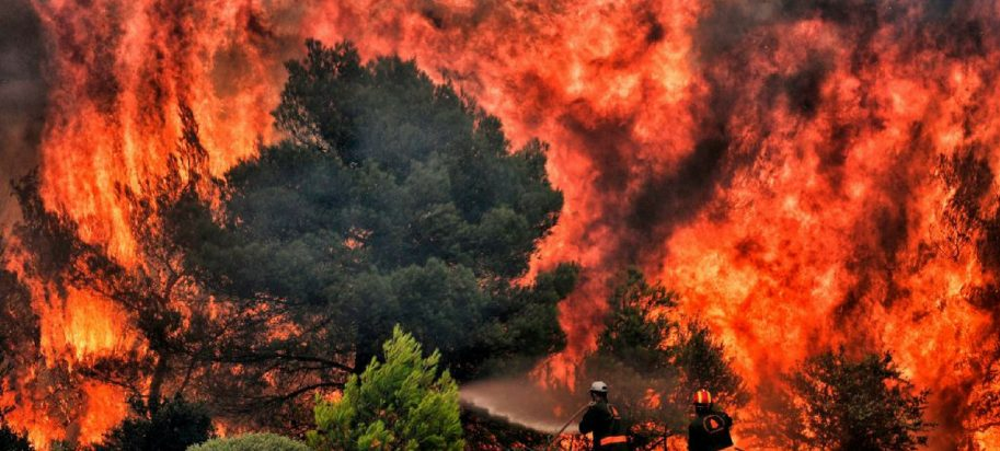 Scientists believe global warming and wildfires are man-made and can be prevented.