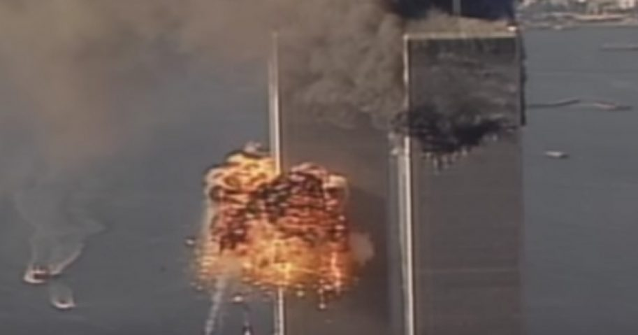 The attack on the World Trade Center on Sept. 11, 2001