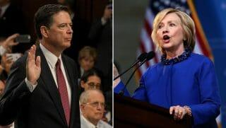 James Comey/Hillary Clinton