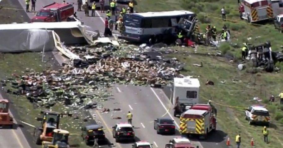 Deadly bus crash in New Mexico