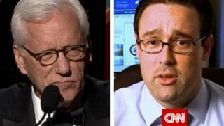 James Woods, left, and Chris Cillizza