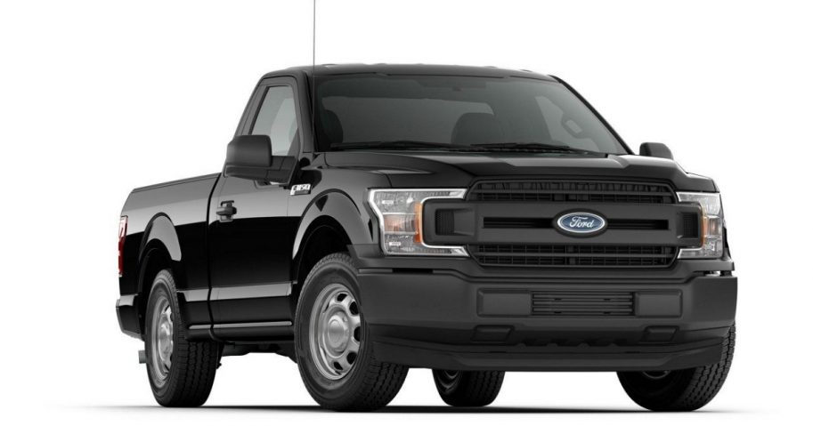 A 2018 version of the Ford F-150 pickup truck.