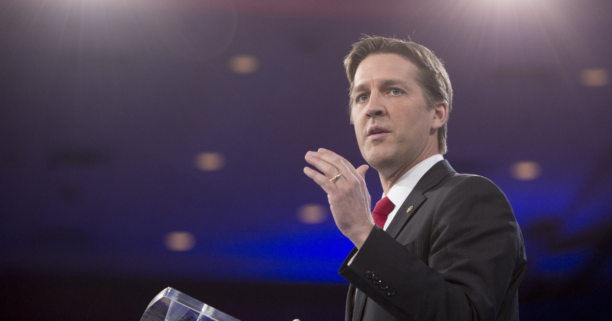 U.S. Sen. Ben Sasse, Republican of Nebraska, speaks during the annual Conservative Political Action Conference 2016 at National Harbor in Oxon Hill, Maryland, outside Washington, March 3, 2016.