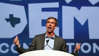 Beto O'Rourke speaks during the general session at the Texas Democratic Convention Friday, June 22, 2018, in Fort Worth, Texas.