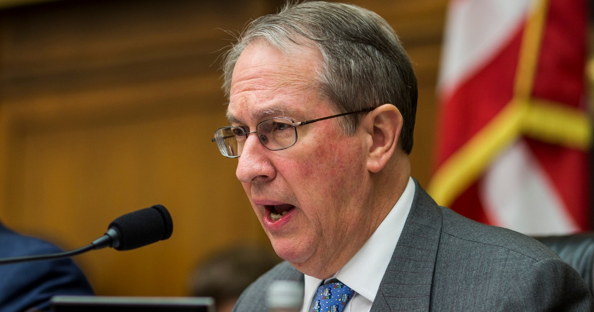 House Judiciary Committee Chairman Bob Goodlatte asks a question during a hearing Dec. 13, 2017, in Washington.