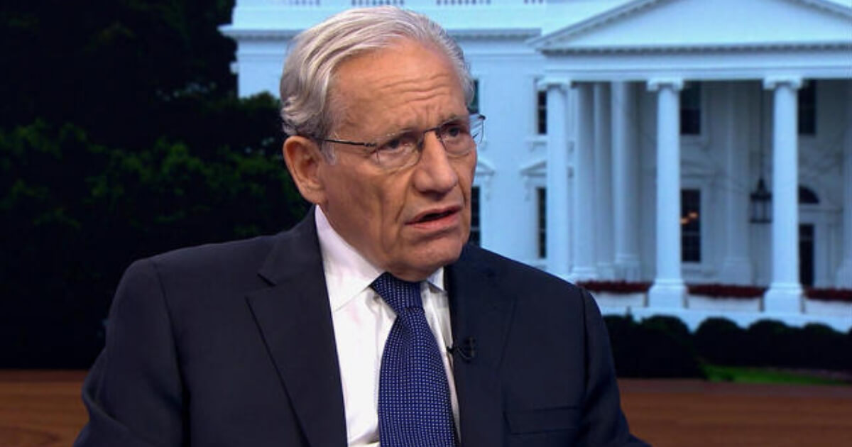 Bob Woodward hyperventilates