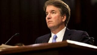 Supreme Court nominee Brett Kavanaugh testifies during his confirmation hearing before the Senate Judiciary Committee.