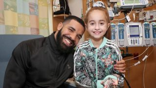 Drake and 11-year-old Sofia.