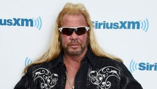 Dog the Bounty Hunter, Duane Chapman visits the SiriusXM Studios on April 24, 2015, in New York City.