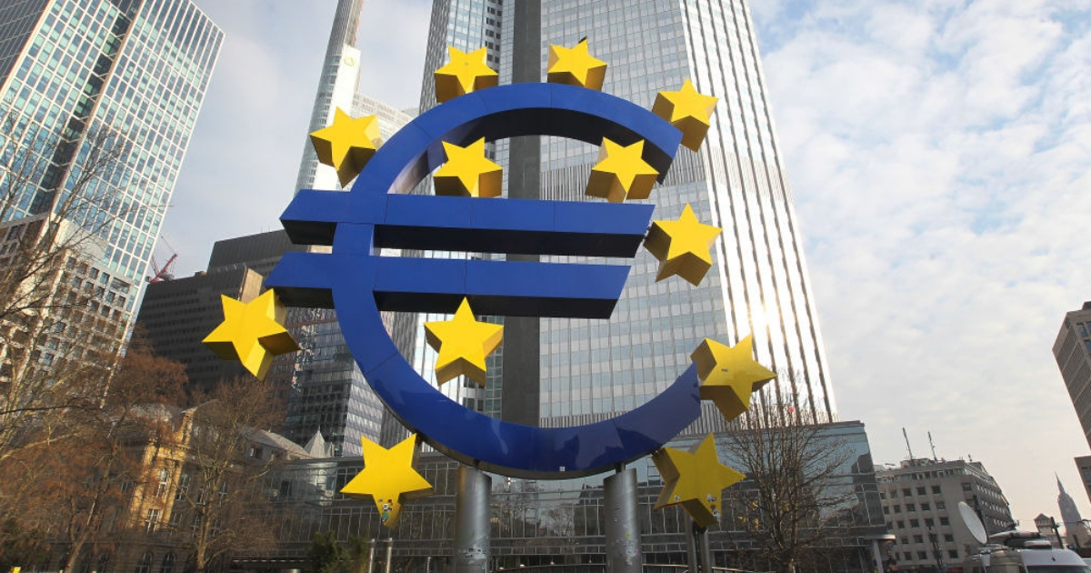 Euro Statue in Germany