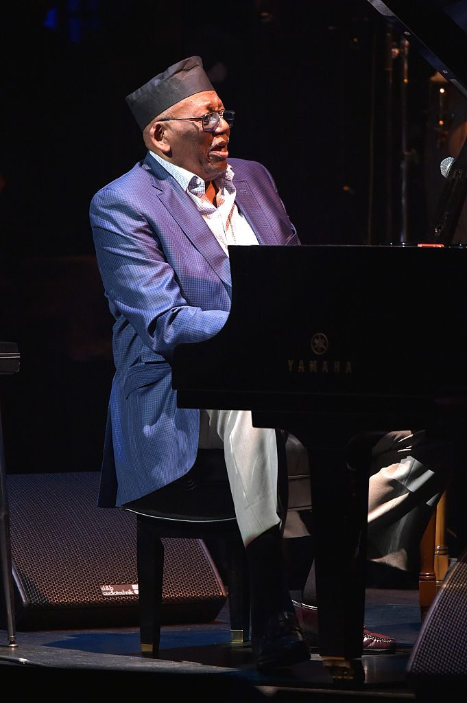 Randy Weston performs at The Jazz Foundation of America Presents the 14th Annual 'A Great Night in Harlem' Gala Concert to Benefit Their Jazz Musicians Emergency Fund Saving Jazz, Blues and R&B
