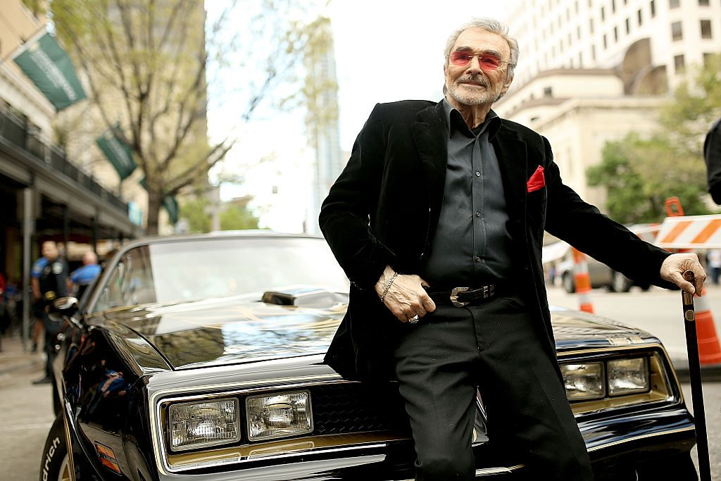 "Actor Burt Reynolds attends the screening of ""The Bandit"" in 2016."