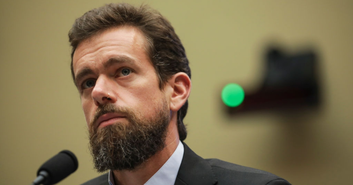 Twitter CEO Jack Dorsey testifies during a House Committee on Energy and Commerce hearing about Twitter's transparency and accountability on Capitol Hill Sept. 5, 2018, in Washington, D.C.