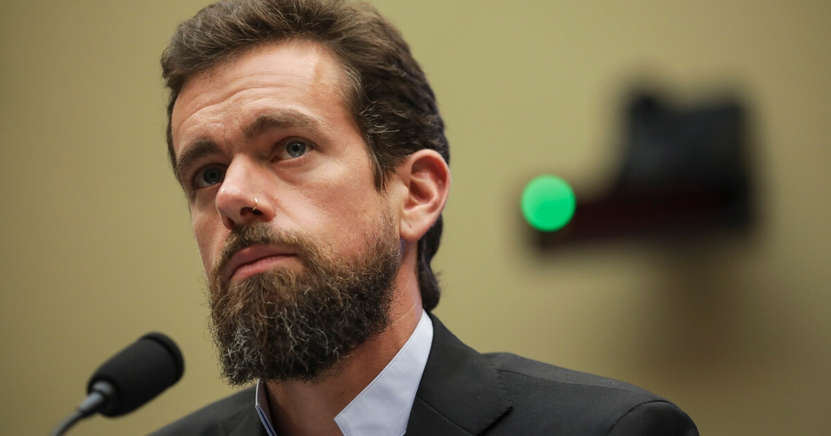Twitter chief executive officer Jack Dorsey testifies during a House Committee on Energy and Commerce hearing about Twitter's transparency and accountability, on Capitol Hill, Sept. 5, 2018, in Washington, D.C.