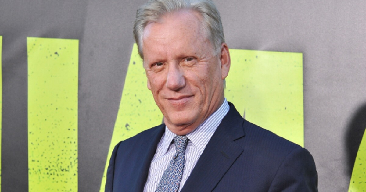 Conservative actor James Woods is pictured in a file photo from 2012.