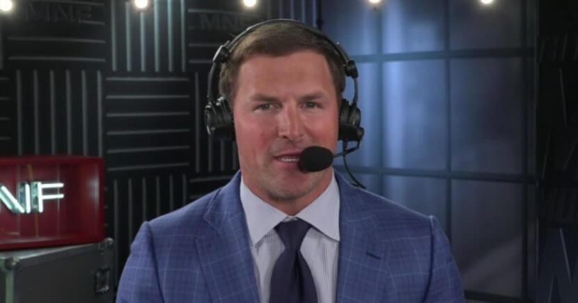 ESPN 'Monday Night Football' analyst Jason Witten.