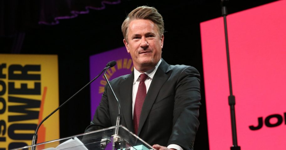Joe Scarborough attends the 2018 Matrix Awards at Sheraton Times Square on April 23, 2018, in New York City.