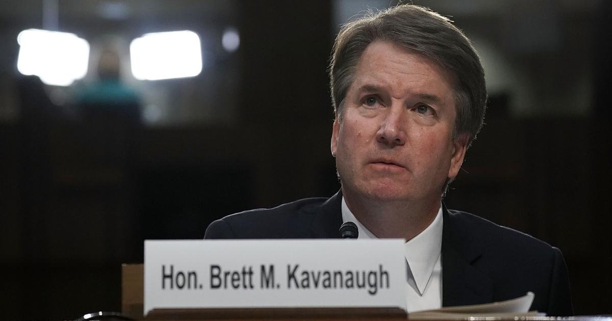 Supreme Court nominee Brett Kavanaugh testifies before the Senate Judiciary Committee on Sept. 6 in Washington.