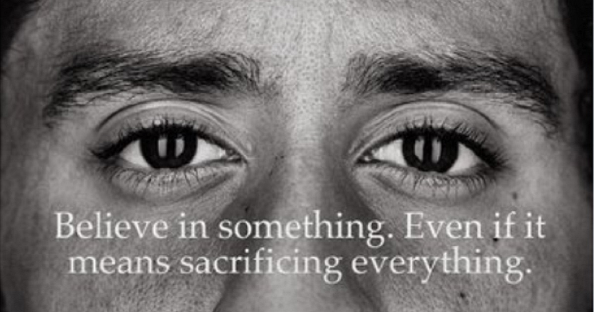 Colin Kapernick is the face of Nike's latest ad campaign.