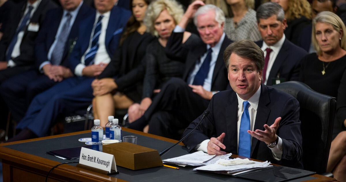 Reports: Kavanaugh Has Found 1982 Calendar, Detailed Entries Help Clear His Name