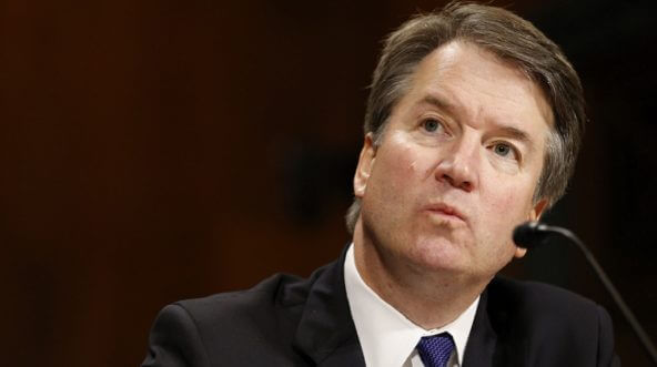 Supreme Court nominee Brett Kavanaugh faces questioning before the Senate Judiciary Committee on Sept. 27.