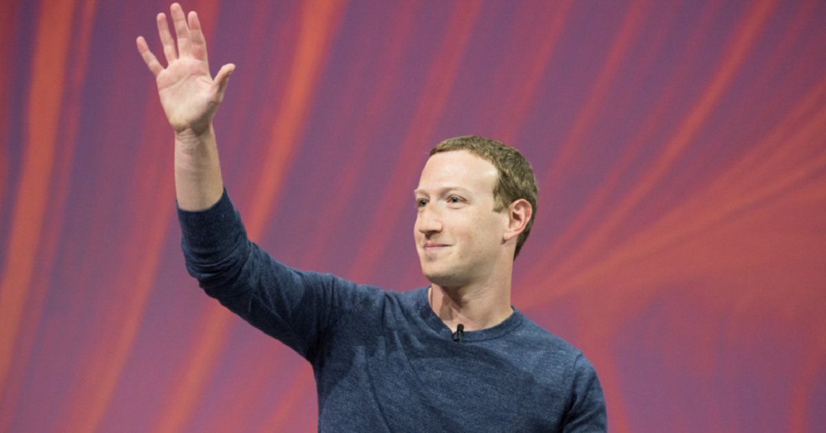 Facebook CEO Mark Zuckerberg waves at a news conference in May during a gathering of tech start-ups and leaders in Paris.