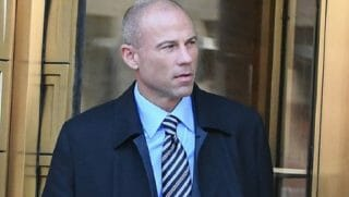Michael Avenatti on a street.