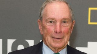 Former New York City Mayor Michael Bloomberg is pictured at an April event at the Museum of Modern Art in New York City.