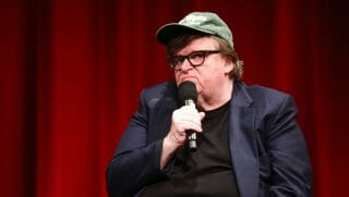 Michael Moore appears on CNN