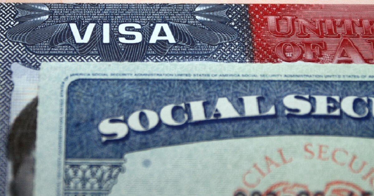 Image of Social Security card.