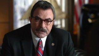 Actor Tom Selleck in the CBS drama 'Blue Bloods.'