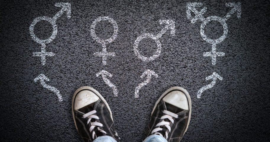 Transgender symbols.