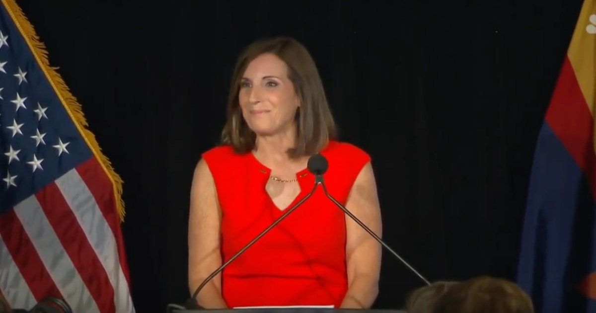 Martha McSally celebrated her victory in Arizona's GOP primary on Aug. 28.