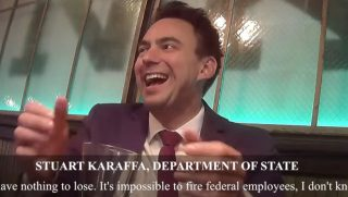 An employee of the State Department is caught on an undercover video from Project Veritas admitting he actively tries to stymie the efforts of the Trump administration.
