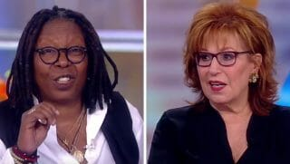 'The View' co-hosts Whoopi Goldberg, left, and Joy Behar.