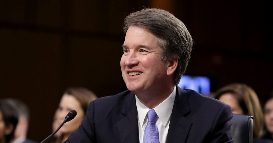 Supreme Court nominee Judge Brett Kavanaugh testifies before the Senate Judiciary Committee