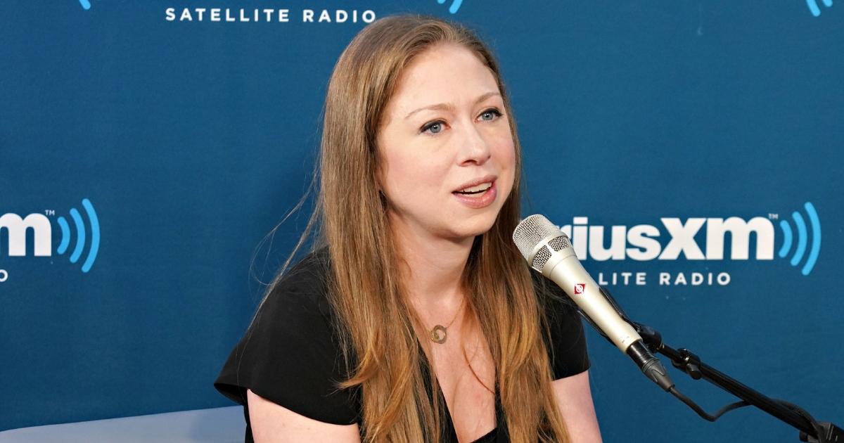 Chelsea Clinton speaks at SiriusXM