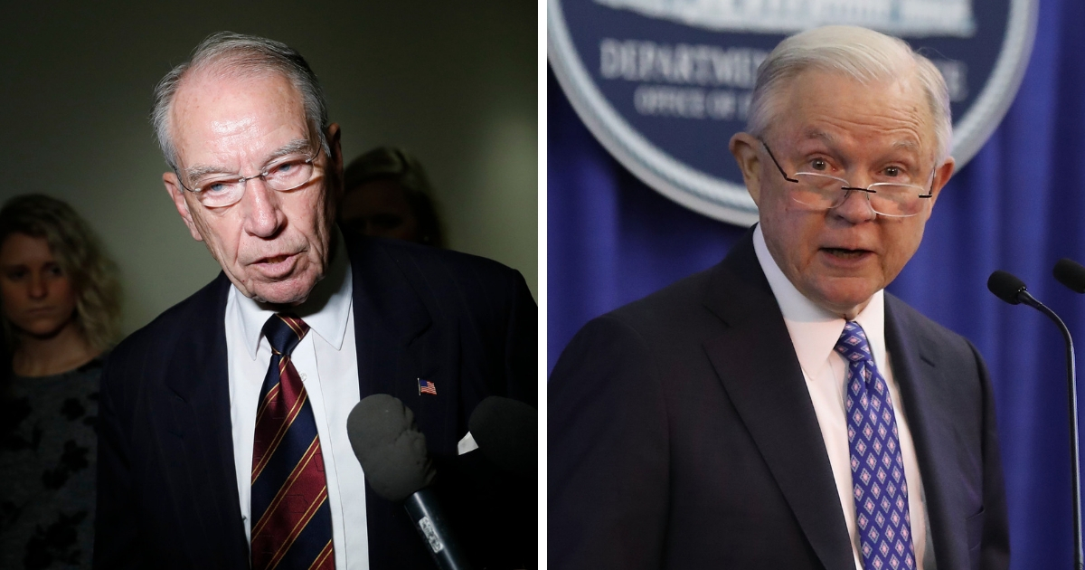 Chuck Grassley/Jeff Sessions