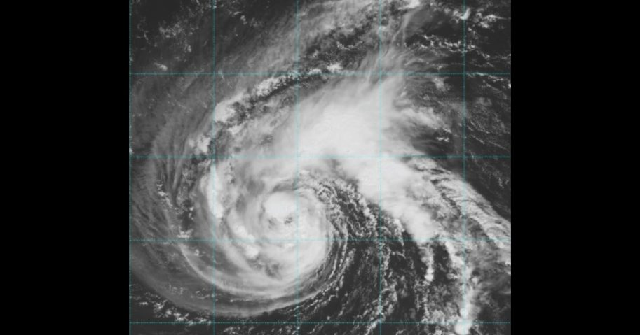 Storm Florence satellite