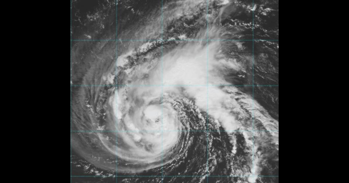 Storm Florence satellite