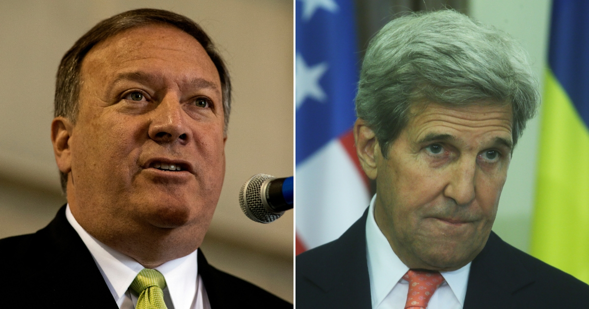 Mike Pompeo/John Kerry
