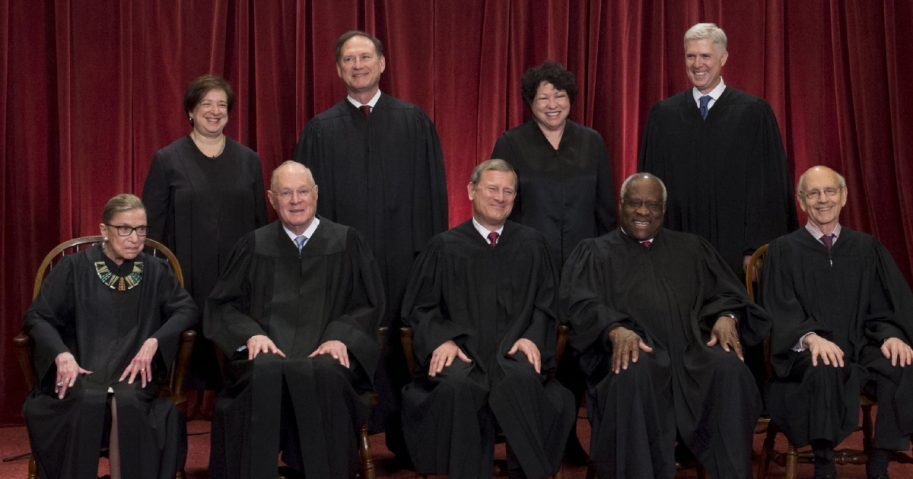 Supreme Court group photo