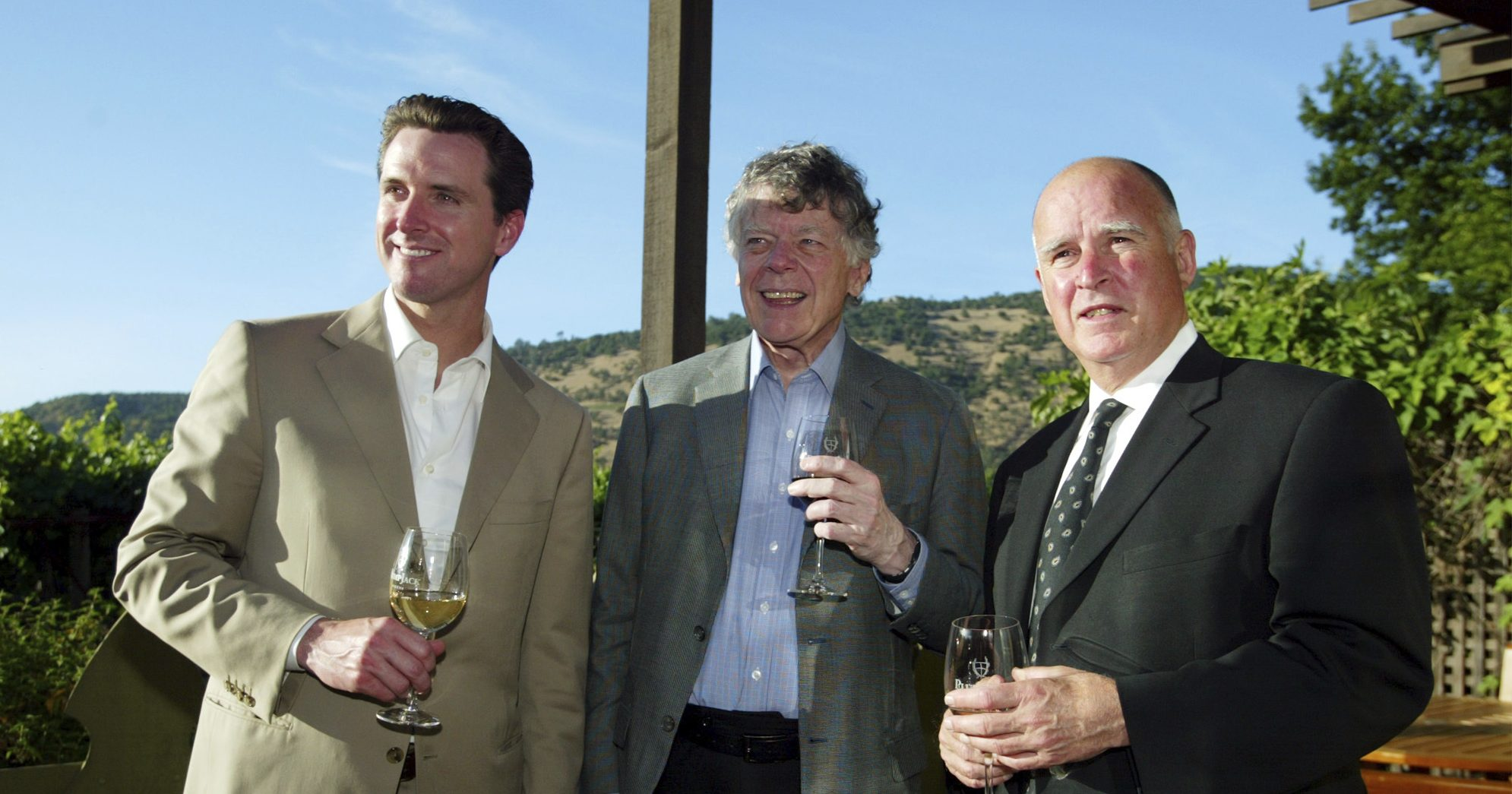 Newsom, Getty, Brown