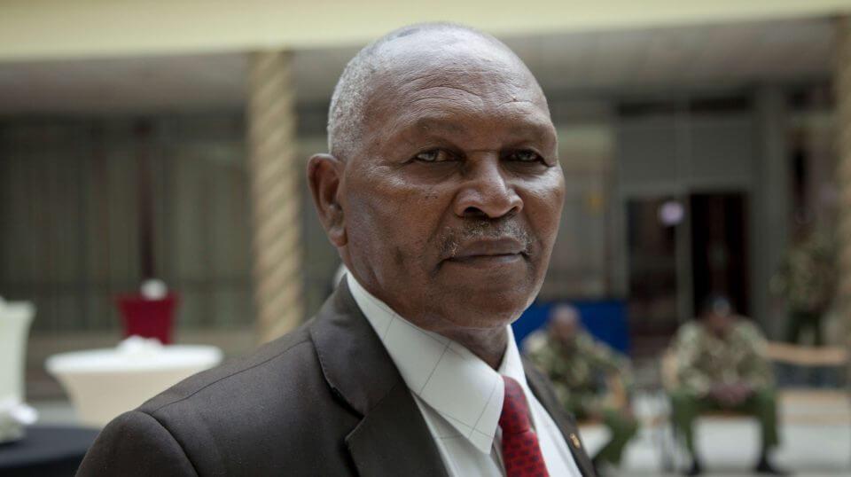 Incumbent head of Kenya's National Olympic Committee Kipchoge 'Kip' Keino