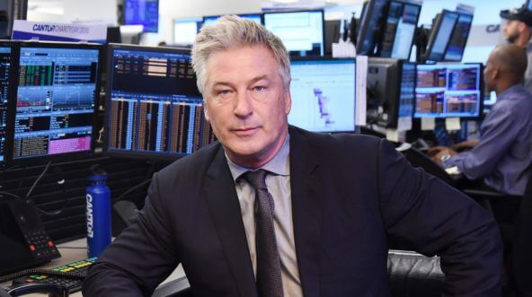 Alec Baldwin attends the Annual Charity Day hosted by Cantor Fitzgerald, BGC and GFI at Cantor Fitzgerald on Sept. 11, 2018, in New York City.