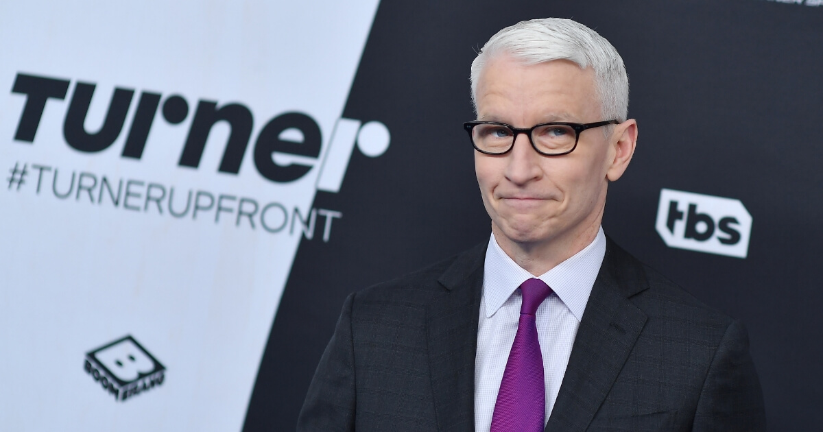 Anderson Cooper attends the Turner Upfront 2018 arrivals